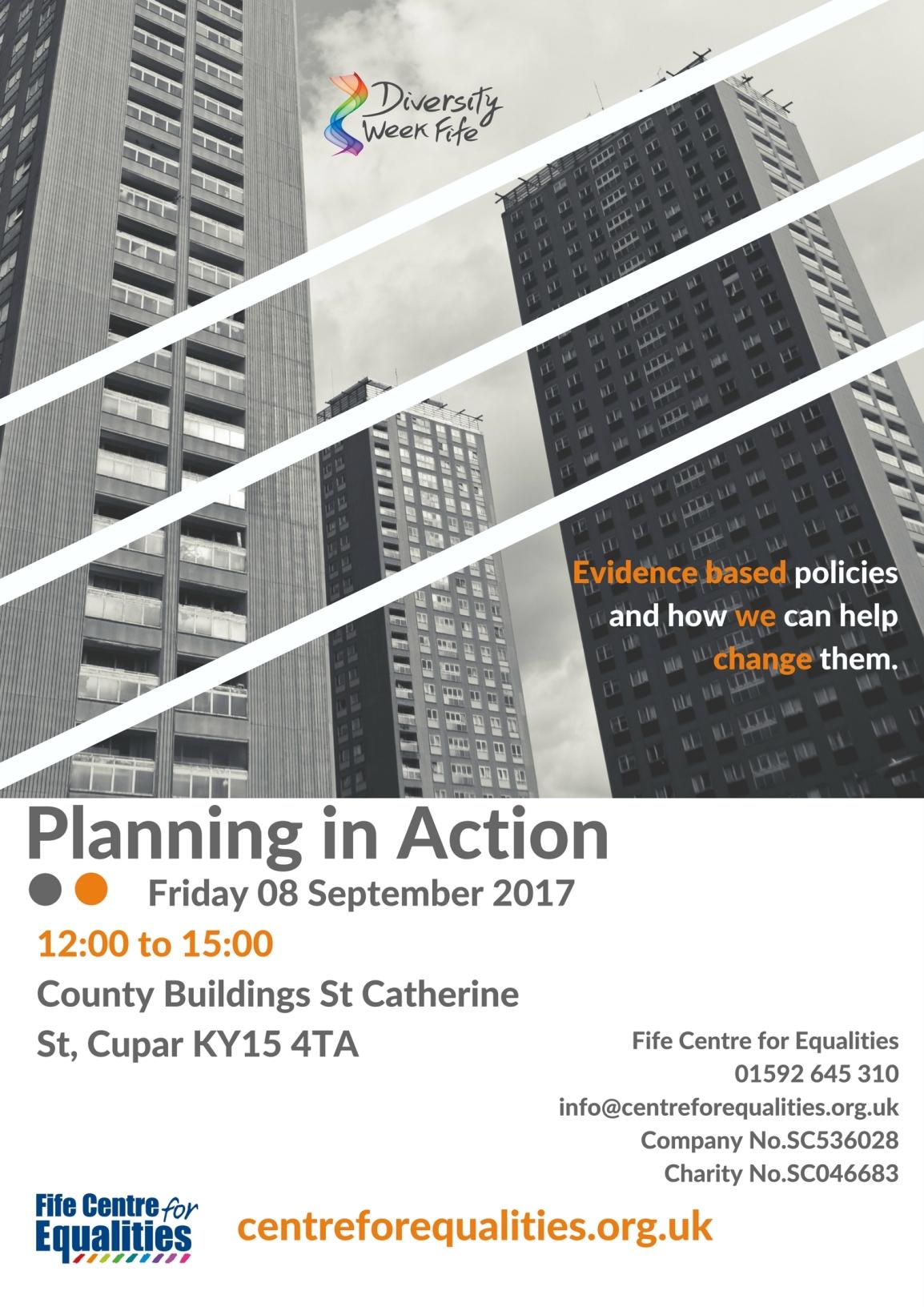 Diversity Week 2017: Participation in PlanningReport