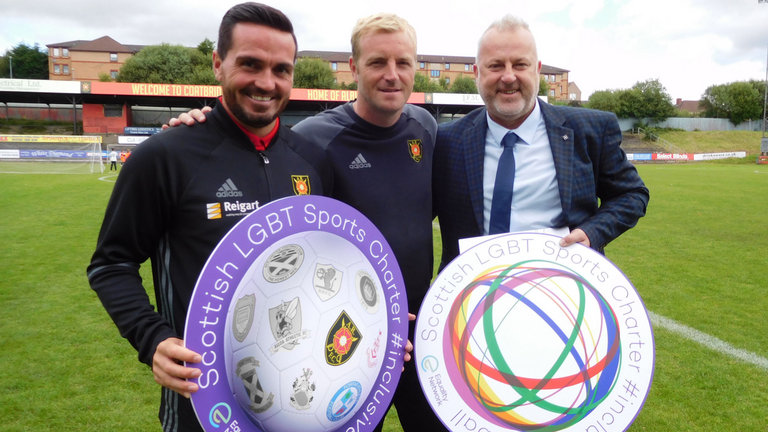Equality News Update:  Football's commitment to better include LGBT people in the beautiful game